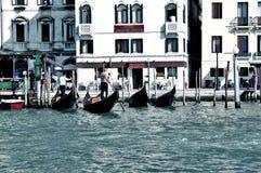 Γόνδολες στη Βενετία Στοκ φωτογραφίες με δικαίωμα ελεύθερης χρήσης