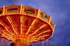 Γύροι καρναβαλιού Στοκ Φωτογραφίες