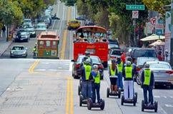 Γύροι PT Segway στο Σαν Φρανσίσκο - Καλιφόρνια Στοκ εικόνα με δικαίωμα ελεύθερης χρήσης