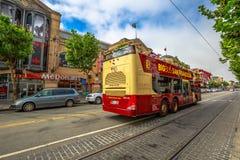 Γύρος λεωφορείων του Σαν Φρανσίσκο Στοκ Φωτογραφία