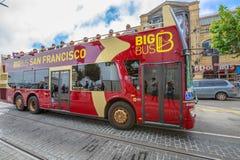 Γύρος λεωφορείων του Σαν Φρανσίσκο Στοκ φωτογραφία με δικαίωμα ελεύθερης χρήσης