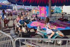 Γύρος καρναβαλιού παιδιών Στοκ Φωτογραφία