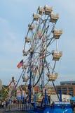 Γύρος καρναβαλιού ροδών Ferris Στοκ εικόνες με δικαίωμα ελεύθερης χρήσης
