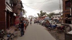 Γύρος μηχανικών δίκυκλων σε Patan, Νεπάλ φιλμ μικρού μήκους