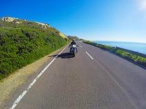 Γύρος μοτοσικλετών μια ηλιόλουστη ημέρα Στοκ φωτογραφίες με δικαίωμα ελεύθερης χρήσης