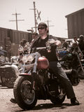 Γύρος μοτοσικλετών Στοκ εικόνες με δικαίωμα ελεύθερης χρήσης