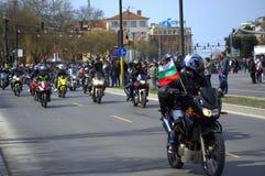Γύρος μοτοσικλετών Στοκ φωτογραφίες με δικαίωμα ελεύθερης χρήσης