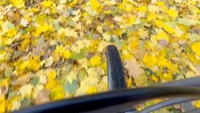 Γύρος ποδηλατών απόθεμα βίντεο