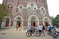 Γύρος ποδηλάτων του Σικάγου στοκ φωτογραφίες με δικαίωμα ελεύθερης χρήσης