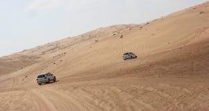 Γύρος τζιπ - άμμοι Wahiba, Ομάν Στοκ εικόνες με δικαίωμα ελεύθερης χρήσης