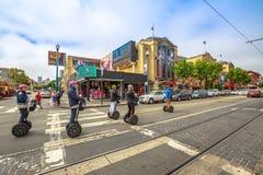 Γύρος του Σαν Φρανσίσκο Segway Στοκ Φωτογραφίες