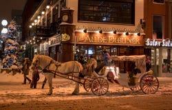 Γύρος χειμερινών μεταφορών Στοκ Εικόνες