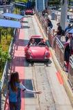 Γύρος Autopia σε Disneyland Στοκ Εικόνες