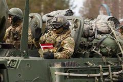 Γύρος Dragoon ΑΜΕΡΙΚΑΝΙΚΟΥ στρατού Στοκ Φωτογραφία