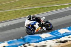 Γύρω από το αυστραλιανό πρωτάθλημα Superbike χρηματοδότησης μηχανών Yamaha 3 - του 2017 Στοκ Εικόνα