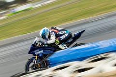 Γύρω από το αυστραλιανό πρωτάθλημα Superbike χρηματοδότησης μηχανών Yamaha 3 - του 2017 Στοκ εικόνες με δικαίωμα ελεύθερης χρήσης