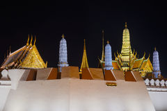 Γύρω από το μεγάλο παλάτι, Μπανγκόκ, Ταϊλάνδη Στοκ εικόνα με δικαίωμα ελεύθερης χρήσης