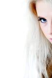 γύρω από το μπλε μάτι γωνιών π&omi στοκ φωτογραφίες με δικαίωμα ελεύθερης χρήσης