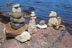 Γλάρος στην παραλία στην Κροατία Στοκ φωτογραφία με δικαίωμα ελεύθερης χρήσης