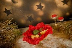 Γλασαρισμένα φρούτα, ισπανικό γλυκό Στοκ εικόνα με δικαίωμα ελεύθερης χρήσης