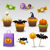 Γλυκά για αποκριές απεικόνιση αποθεμάτων