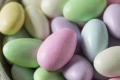 Γλυκά γλασαρισμένα αμύγδαλα της Ιορδανίας Στοκ Φωτογραφία