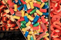 Γλυκά και καραμέλες στοκ εικόνες