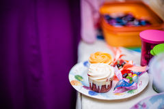 Γλυκά και πρόχειρα φαγητά Στοκ Φωτογραφία