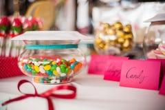 Γλυκά και πρόχειρα φαγητά Στοκ Εικόνες
