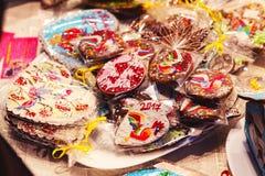 Γλυκά και δώρα Χριστουγέννων Στοκ εικόνα με δικαίωμα ελεύθερης χρήσης