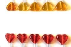 Γλυκά καραμελών Lollipops Στοκ εικόνα με δικαίωμα ελεύθερης χρήσης