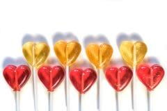 Γλυκά καραμελών Lollipops Στοκ Φωτογραφίες
