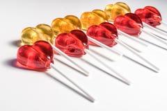 Γλυκά καραμελών Lollipops Στοκ Φωτογραφία
