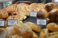 Γλυκά σε ένα αρτοποιείο Στοκ Φωτογραφία