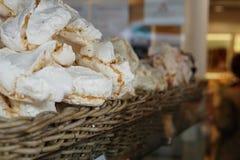 Γλυκά σε ένα αρτοποιείο Στοκ φωτογραφία με δικαίωμα ελεύθερης χρήσης