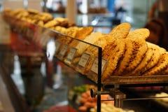 Γλυκά σε ένα αρτοποιείο Στοκ εικόνες με δικαίωμα ελεύθερης χρήσης