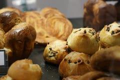 Γλυκά σε ένα αρτοποιείο Στοκ εικόνα με δικαίωμα ελεύθερης χρήσης