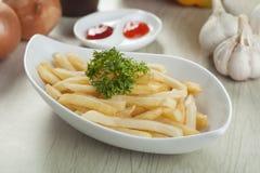 Γλυκά τηγανητά Potatoe Στοκ φωτογραφία με δικαίωμα ελεύθερης χρήσης