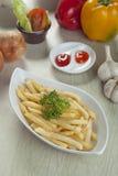 Γλυκά τηγανητά Potatoe Στοκ Φωτογραφίες