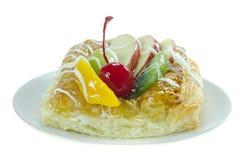 Γλυκά τρόφιμα στο πιάτο Στοκ Φωτογραφίες