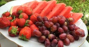 Γλυκά υγιή καθαρά φρούτα Στοκ φωτογραφία με δικαίωμα ελεύθερης χρήσης