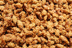 Γλυκά ψημένα αμύγδαλα Στοκ φωτογραφία με δικαίωμα ελεύθερης χρήσης