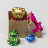 Γλυκά δώρα Χριστουγέννων Στοκ φωτογραφία με δικαίωμα ελεύθερης χρήσης