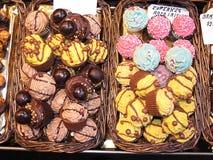 Γλυκά cupcakes Στοκ Φωτογραφία