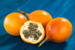 Γλυκά Granadilla ή φρούτα Grenadia στοκ εικόνες με δικαίωμα ελεύθερης χρήσης
