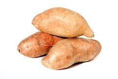 Γλυκές πατάτες Στοκ εικόνες με δικαίωμα ελεύθερης χρήσης