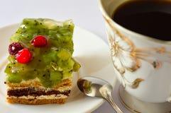 Γλυκιά ζελατίνα μούρων πιτών προγευμάτων Στοκ Εικόνες