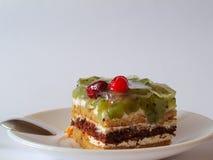 Γλυκιά ζελατίνα μούρων πιτών προγευμάτων Στοκ Φωτογραφίες
