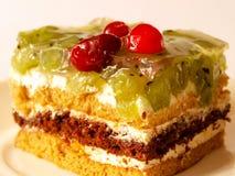 Γλυκιά ζελατίνα μούρων πιτών προγευμάτων Στοκ Εικόνα