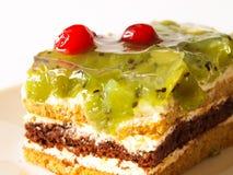 Γλυκιά ζελατίνα μούρων πιτών προγευμάτων Στοκ Φωτογραφία